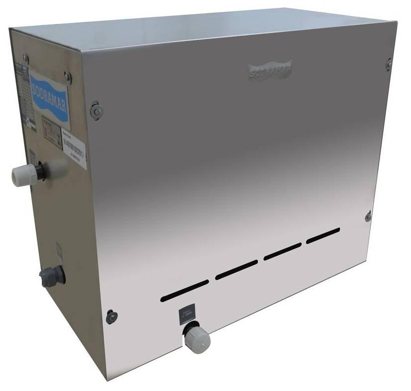 SAUNA STEAN INOX SODRAMAR 6 kw
