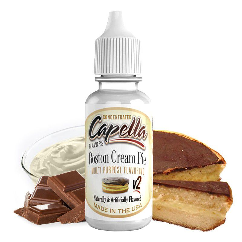 BOSTON CREAM PIE CAPELLA - 10ml  - PLANETA VAPOR