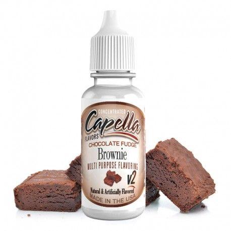 CHOCOLATE FUDGE BROWNIE CAPELLA - 10ml  - PLANETA VAPOR