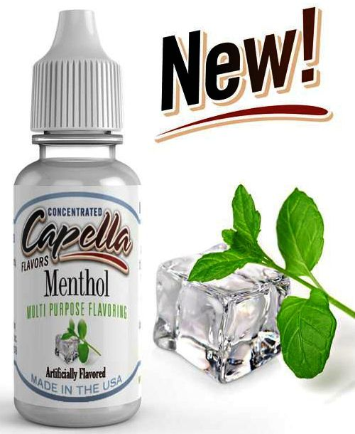 MENTHOL  - CAPELLA 10 ml  - PLANETA VAPOR