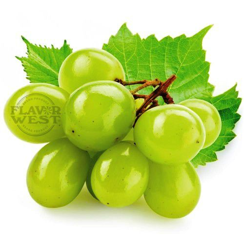 WHITE GRAPE  ( UVAS BRANCAS ) - FLAVOR WEST 10 ml  - PLANETA VAPOR