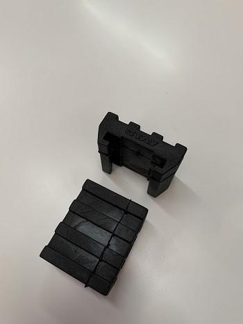 Borracha Ajustável dos Braços Torre e Piano - 01 par