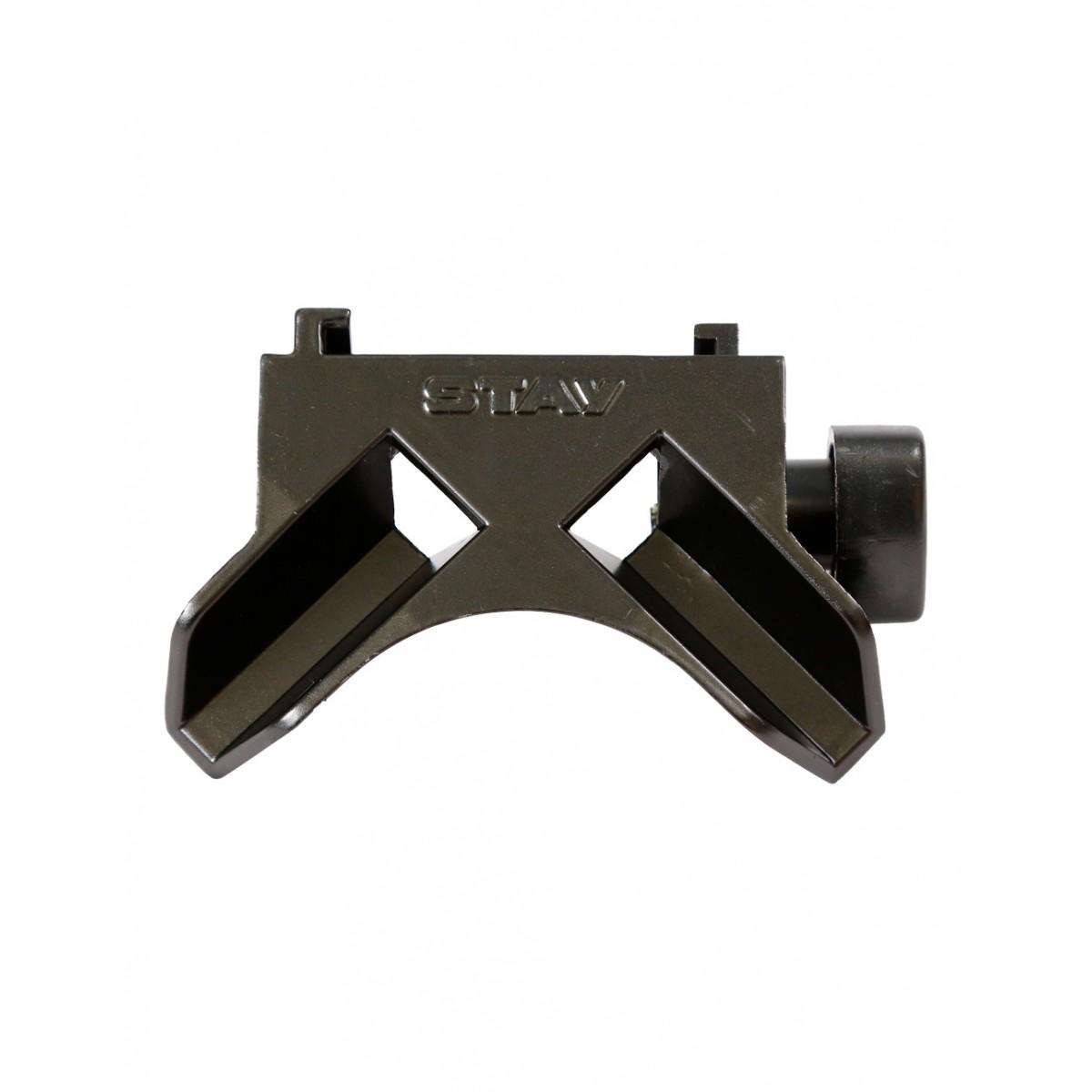 Kit - Braços p/ Slim ou Compact (longarinas) 380mm + Base Reta p/ Slim ou Compact