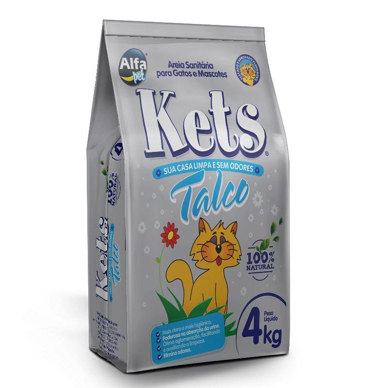 Areia Sanitária Kets Talco