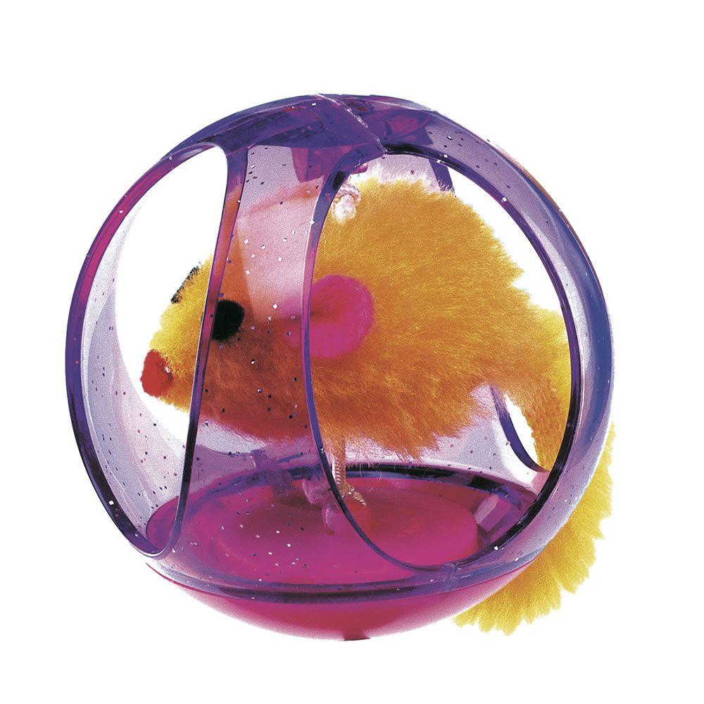 Brinquedo Bola com Rato - Ferplast