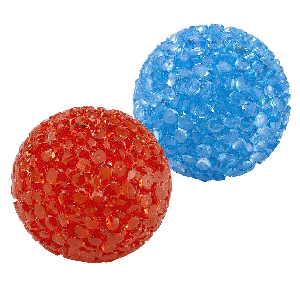 Brinquedo Bola Neon com Guizo - Ferplast