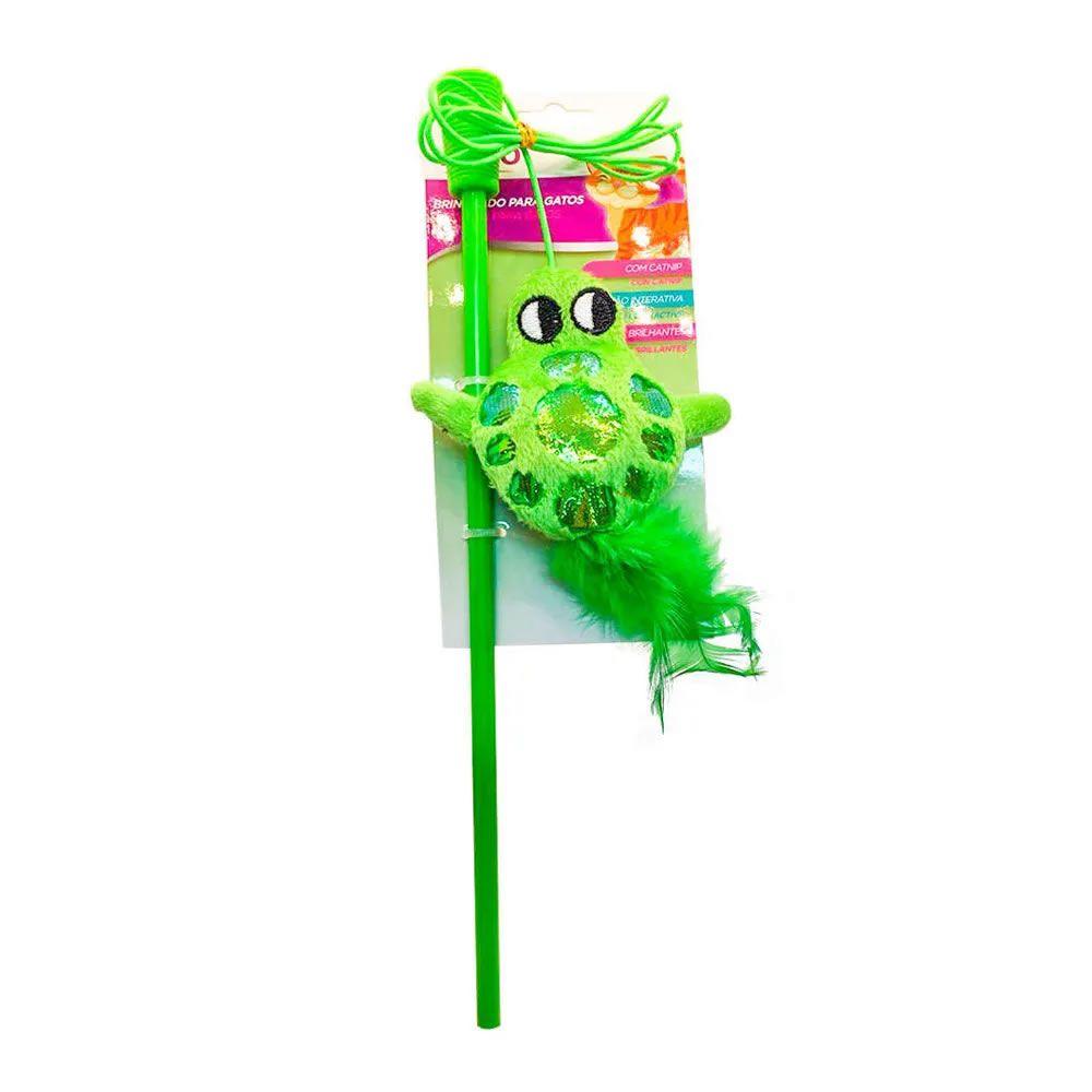 Brinquedo Varinha Sapo Verde - Akio