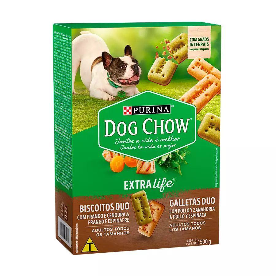 Dog Chow Carinhos Duo Frango e Cenoura
