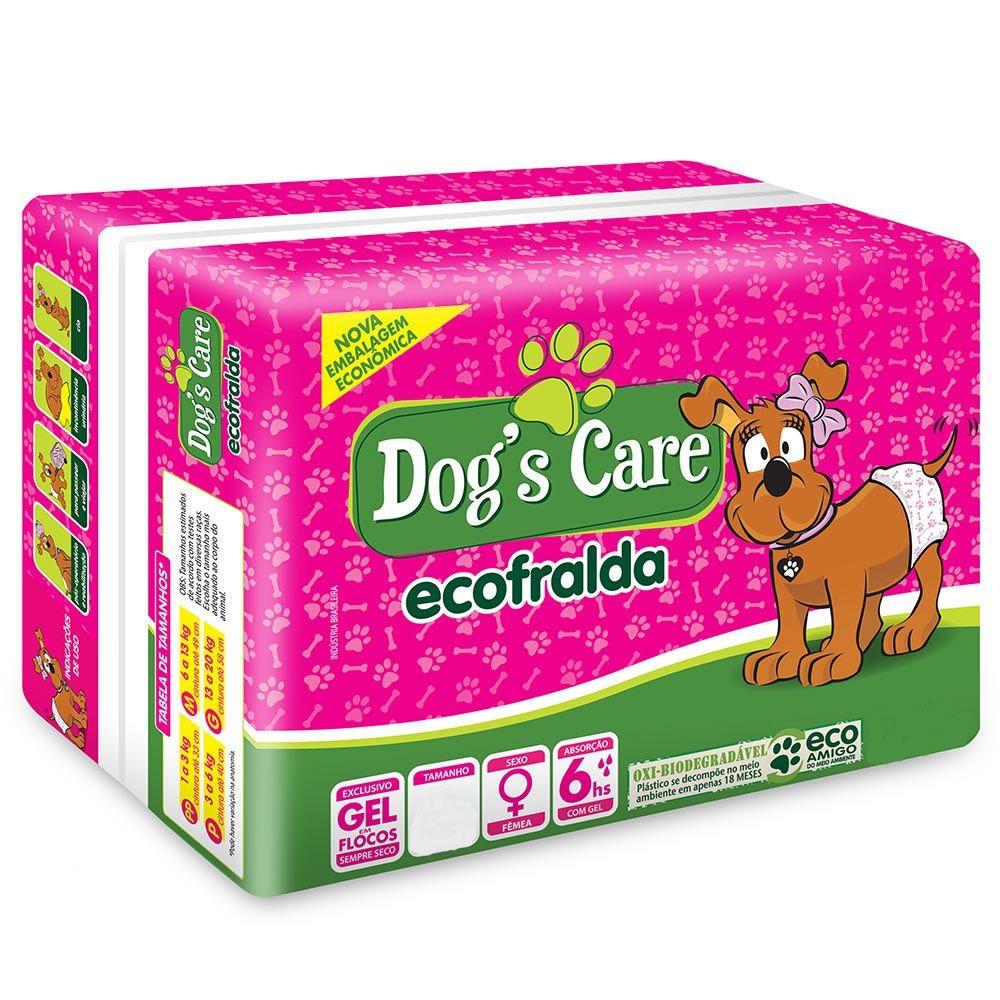 Fralda para Fêmea Dog's Care