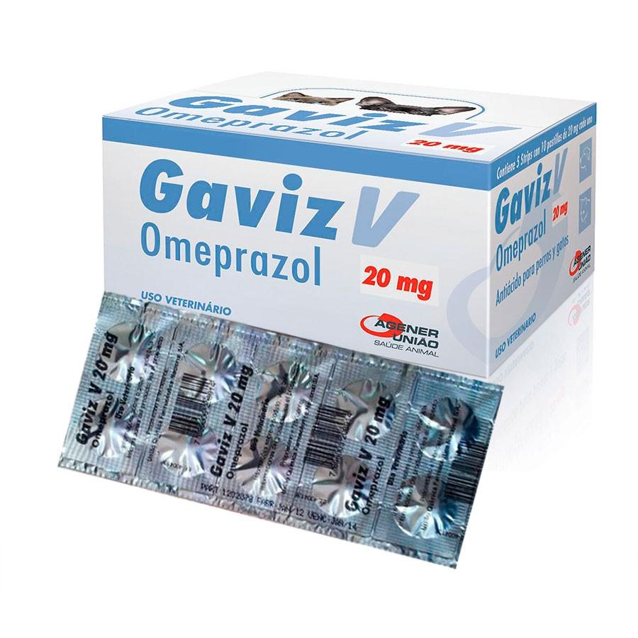 Gaviz V Omeprazol 20mg (10 comprimidos)