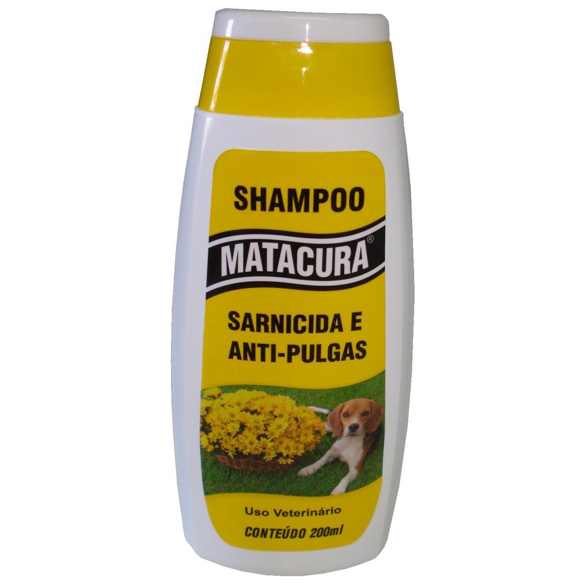 Matacura Shampoo Sarnicida e Anti-pulgas - 200ml