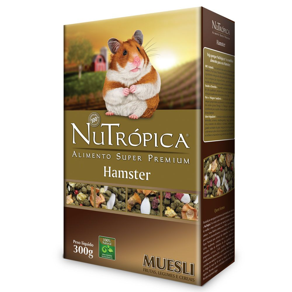 Nutrópica Hamster Muesli