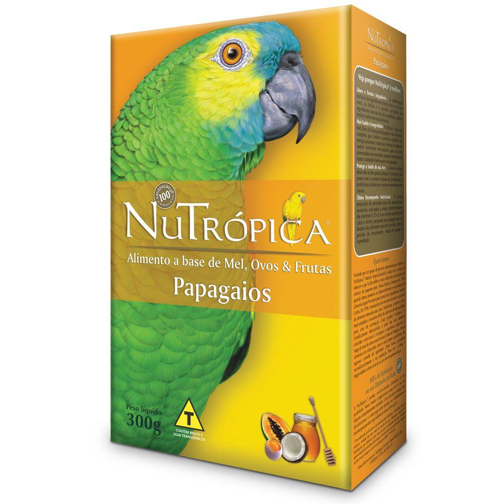 Nutrópica Papagaio Farinhada Mel e Ovos