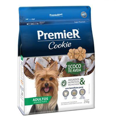 Premier Cookie Adulto Coco e Aveia - 250g