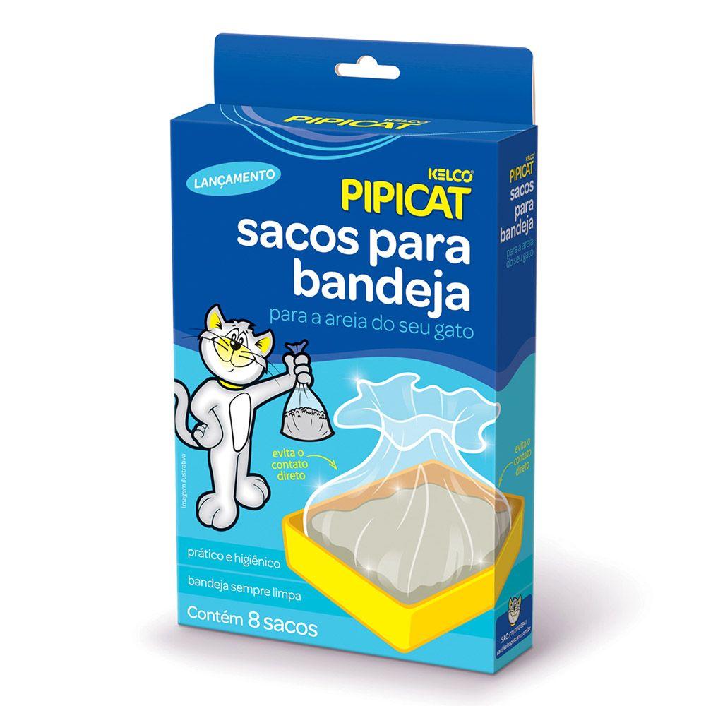 Sacos para Bandeja Pipicat - 8 unidades