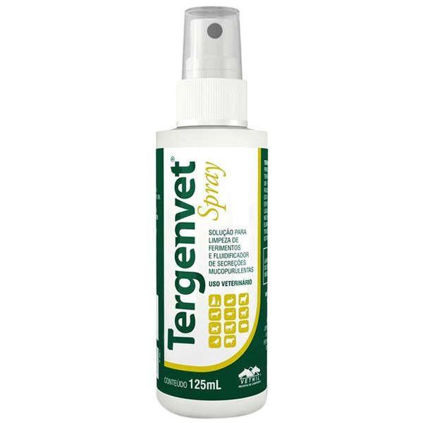 Tergenvet Spray para Limpeza de Ferimentos 125ml - Vetnil