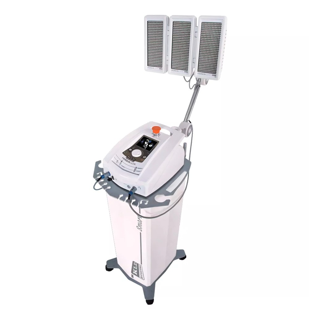 Hygialux Aparelho de Fototerapia com Rack, Braço Articulado e Painel - KLD