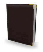 Agenda Jurídica - Diário do Direito 2019 - MARROM CAFÉ