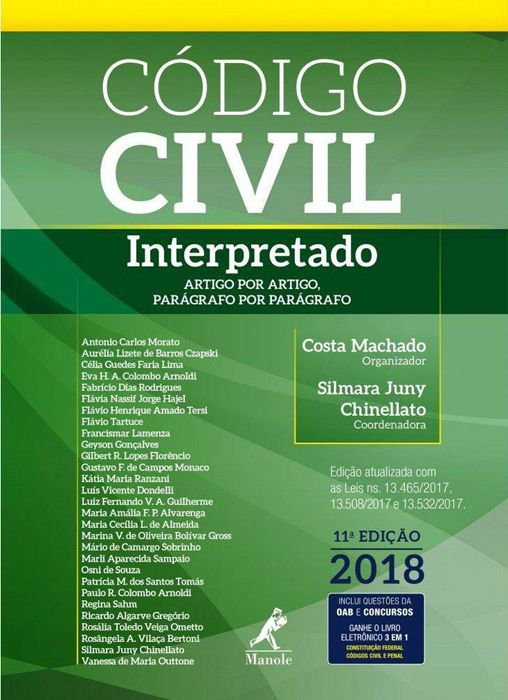 Código Civil Interpretado: Artigo por Artigo