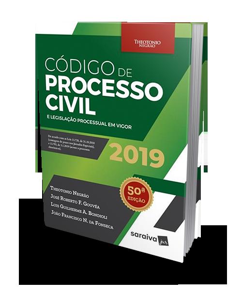 Código De Processo Civil e Legislação Processual Em Vigor - 50ª Ed. 2019 - Theotonio Negrão