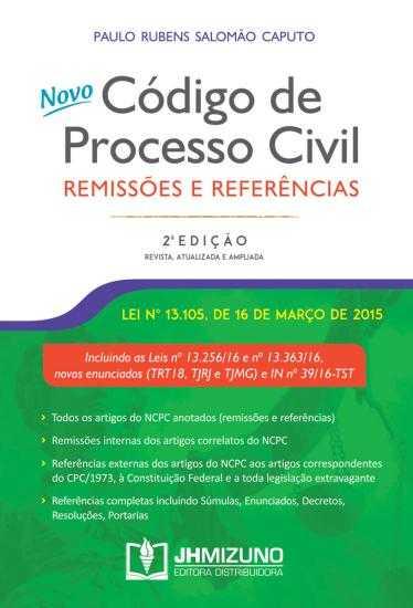 Código de Processo Civil Remissões e Referências