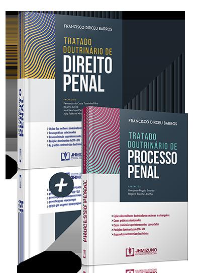 Combo Tratado Doutrinário de Direito Penal + Tratado Doutrinário de Processo Penal