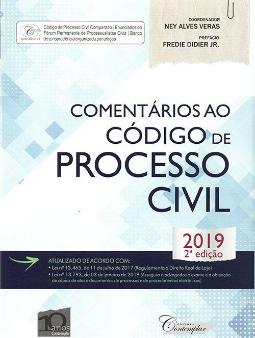 Comentários Ao Código De Processo Civil - 2ª Ed. 2019