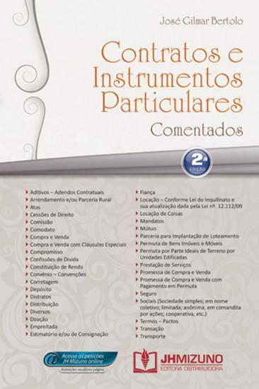 Contratos e Instrumentos Particulares Comentados