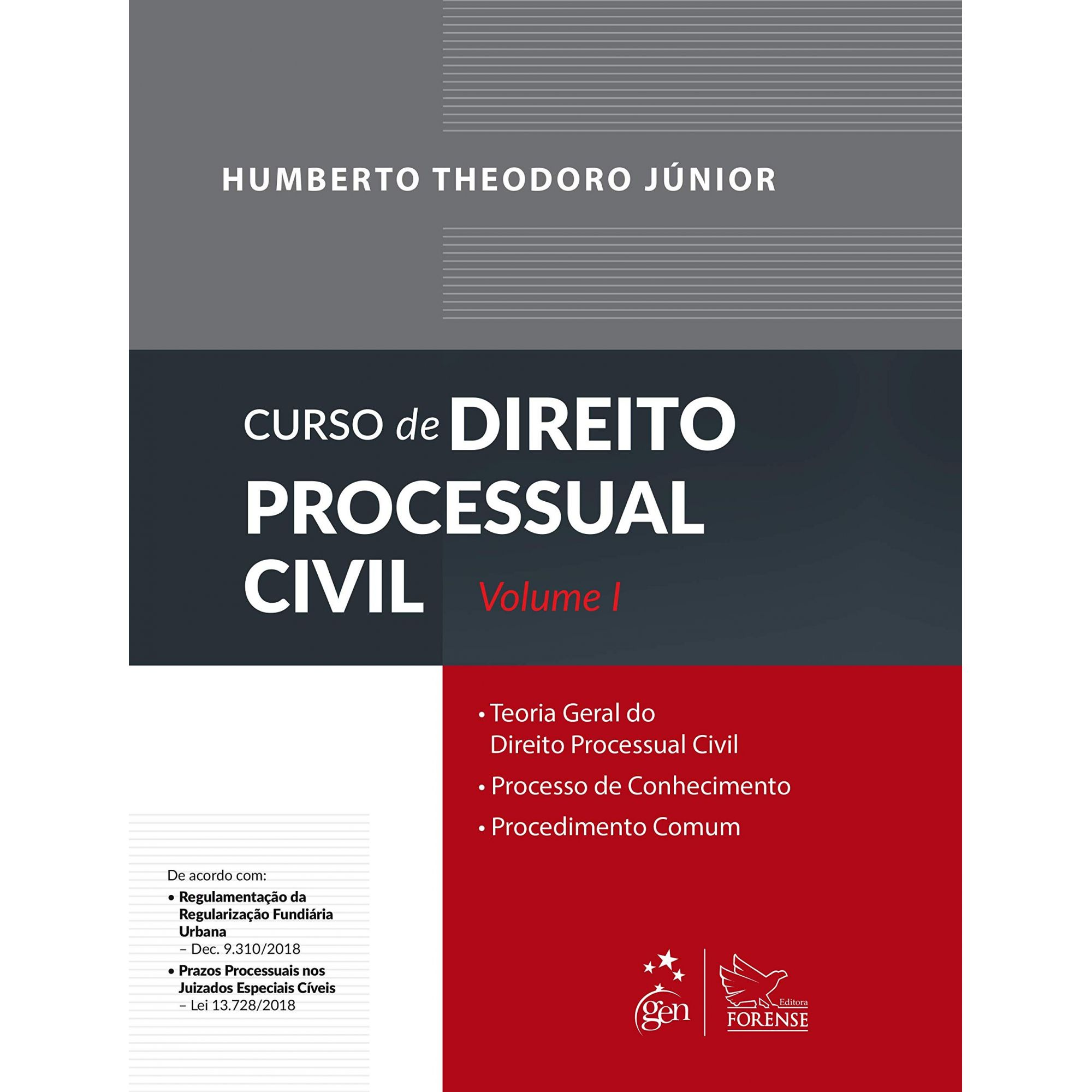 Curso de Direito Processual Civil - Volume I - 60ª Edição - 2019
