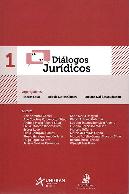 Diálogos Jurídicos 1 - 1ª Edição
