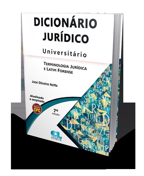 Dicionário Jurídico Universitário - 7° Edição
