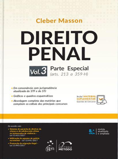 Direito Penal - Parte Especial - Vol. 3 - 8ª Edição