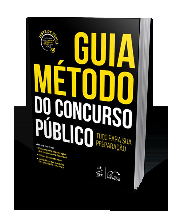 Guia Método do Concurso Público - 1ª Edição