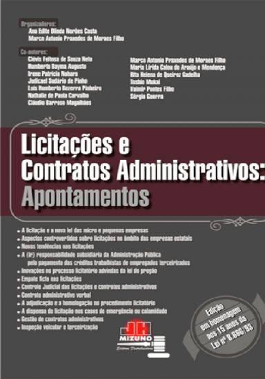 Licitações e Contratos Administrativos: Apontamentos