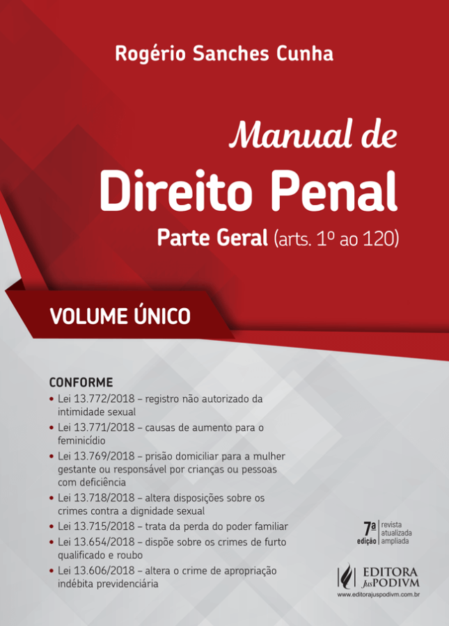 Manual de Direito Penal - Parte Geral 2019