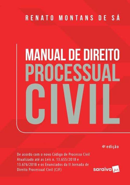 Manual de Direito Processual Civil - 4ª Edição