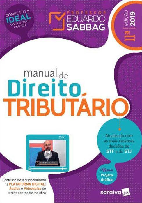 Manual de Direito Tributário - 11ª Edição