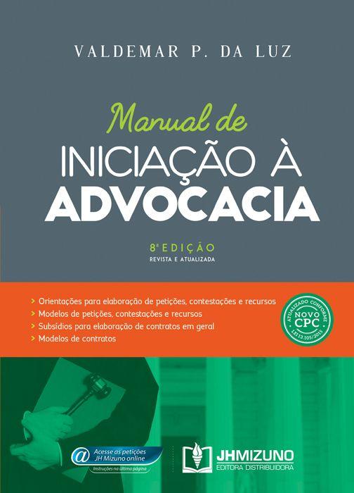 Manual de Iniciação à Advocacia