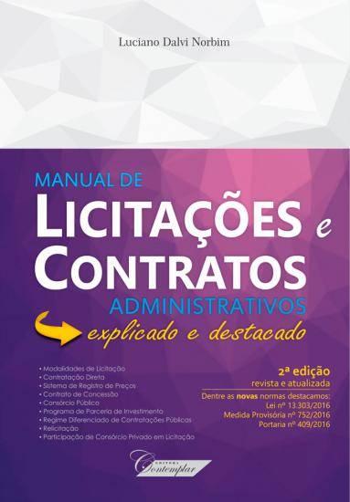 Manual de Licitações e Contratos Administrativos