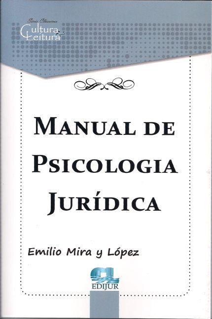 Manual de Psicologia Jurídica
