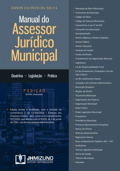 Manual do Assessor Jurídico Municipal