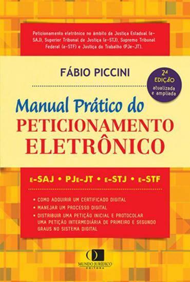 Manual Prático do Peticionamento Eletrônico