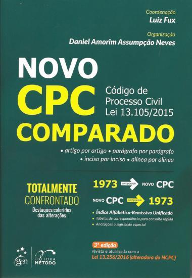 Novo CPC Comparado