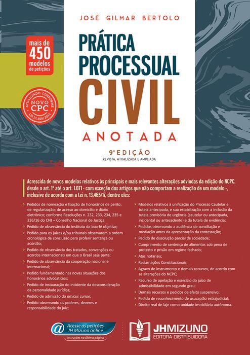 Prática Processual Civil Anotada