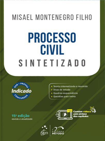Processo Civil Sintetizado - 15ª Edição