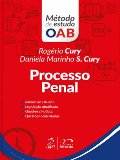 Série Método de Estudo OAB - Processo Penal - 1ª Edição