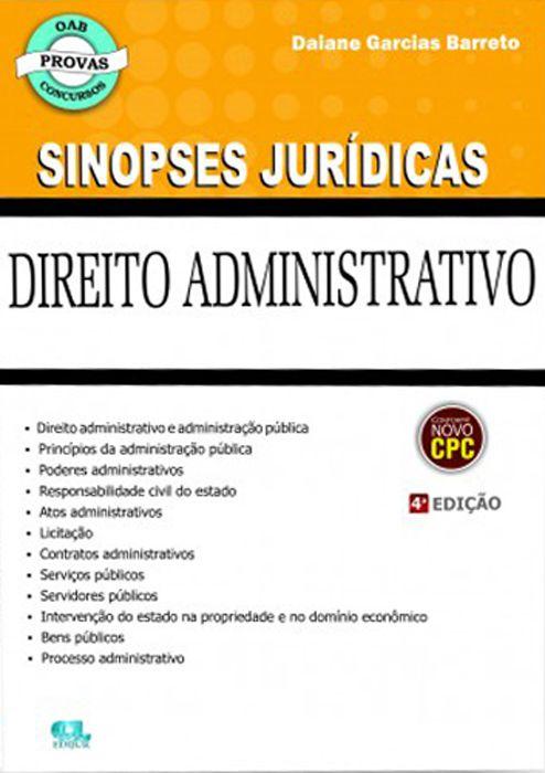 Sinopse de Direito Administrativo - 4ª Edição