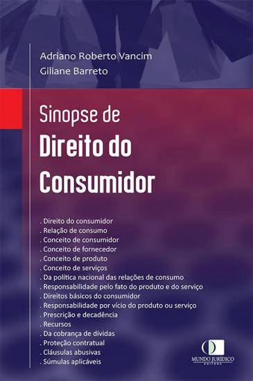 Sinopse de Direito do Consumidor