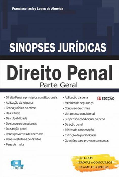 Sinopse de Direito Penal - Parte Geral - 3 Edição