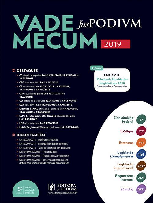 Vade Mecum Juspodivm - 5ª Edição - 2019